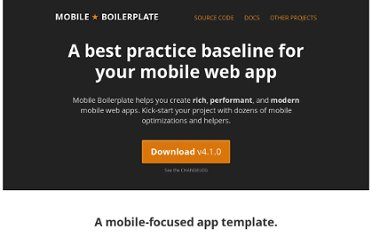 http://html5boilerplate.com/mobile/