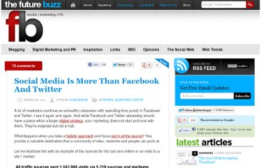 http://thefuturebuzz.com/2011/03/28/social-media-is-more-than-facebook-and-twitter/