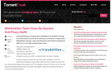 http://torrentfreak.com/wikisubtitles-taken-down-by-spanish-anti-piracy-outfit-080520/
