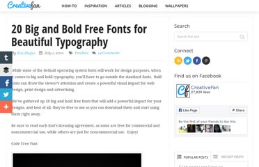 http://creativefan.com/20-big-and-bold-free-fonts-for-beautiful-typography/