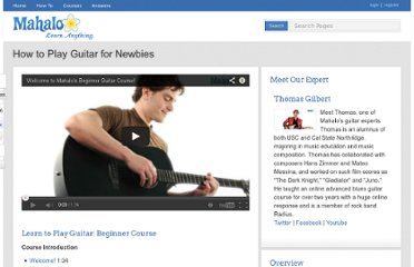http://www.mahalo.com/how-to-play-guitar-for-newbies/