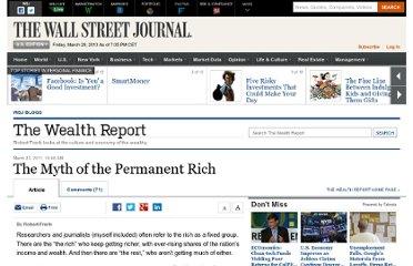 http://blogs.wsj.com/wealth/2011/03/23/the-myth-of-the-permanent-rich/