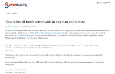 http://openspring.net/tip/how-to-install-drush-serverwide-in-less-than-one-minute