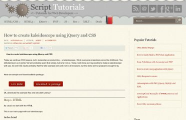 http://www.script-tutorials.com/creating-kaleidoscope-using-jquery-and-css/