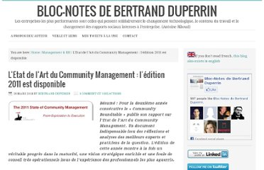 http://www.duperrin.com/2011/03/28/letat-de-lart-du-community-management-ledition-2011-est-disponible/