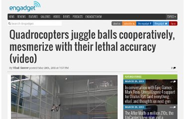 http://www.engadget.com/2011/03/28/quadrocopters-juggle-balls-cooperatively-mesmerize-with-their-l/
