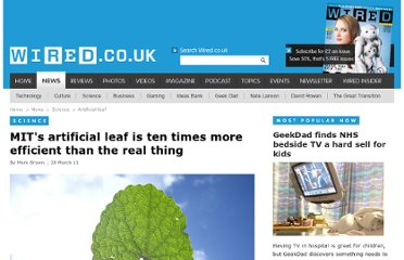 http://www.wired.co.uk/news/archive/2011-03/28/artificial-leaf