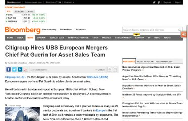 http://www.bloomberg.com/news/2011-03-29/citigroup-hires-ubs-banker-guerin-for-asset-sales-divestitures.html