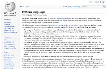 Amazon.com: A Pattern Language: Towns, Buildings, Construction