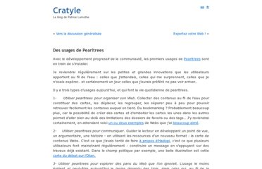 http://www.cratyle.net/fr/2009/03/27/des-usages-de-pearltrees/