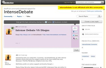 http://getsatisfaction.com/intensedebate/topics/intense_debate_vs_disqus