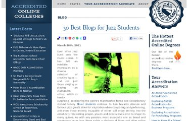 http://www.accreditedonlinecolleges.com/blog/2011/30-best-blogs-for-jazz-students/