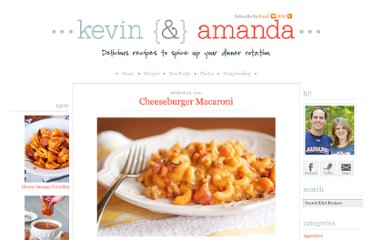 http://www.kevinandamanda.com/recipes/dinner/cheeseburger-macaroni.html