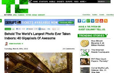http://techcrunch.com/2011/03/29/largest-photo-ever-taken-indoor-40-gigapixels-world-record/