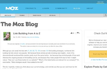 http://www.seomoz.org/blog/link-building-from-a-to-z