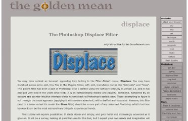 http://www.thegoldenmean.com/technique/displace1.html