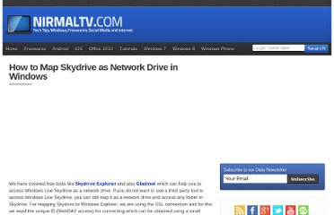 http://www.nirmaltv.com/2010/02/02/how-to-map-skydrive-as-network-drive-in-windows/