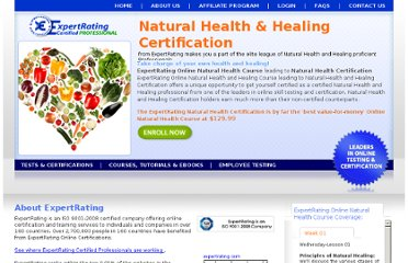http://www.expertrating.com/certifications/InstructorLed/Health-Care-Nutrition-And-Fitness/Introduction-to-Natural-Health-and-Healing/Introduction-to-Natural-Health-and-Healing.asp