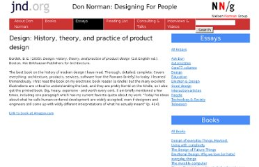 http://www.jnd.org/dn.mss/design_history_theory_and_practice_of_product_design.html