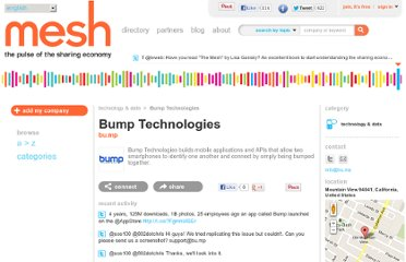 http://meshing.it/companies/3381-Bump-Technologies