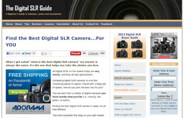 http://www.digital-slr-guide.com/best-digital-slr-camera.html