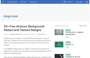 http://designmodo.com/35-free-abstract-background-pattern-and-texture-designs/