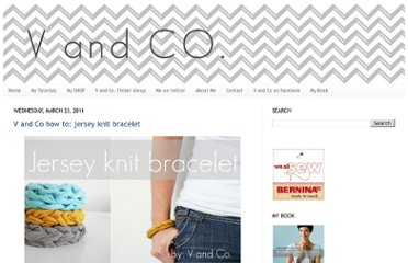 http://www.vanessachristenson.com/2011/03/v-and-co-how-to-jersey-knit-bracelet.html#