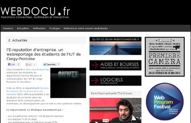 http://webdocu.fr/web-documentaire/2011/03/30/le-reputation-dentreprise-un-webreportage-des-etudiants-de-liut-de-cergy-pontoise/