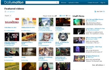 http://www.dailymotion.com/mx/visited-today/featured/1