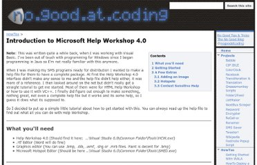 http://www.nogoodatcoding.com/howto/introduction-to-microsoft-help-workshop