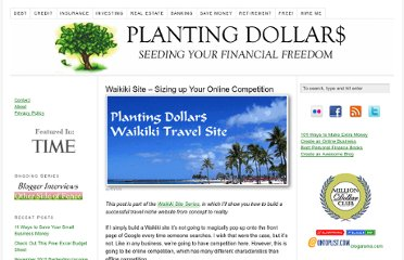http://www.plantingdollars.com/waikiki-travel-site/waikiki-site-sizing-up-your-online-competition/
