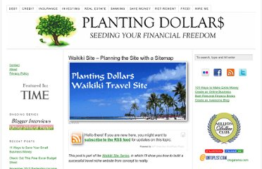 http://www.plantingdollars.com/waikiki-travel-site/waikiki-site-planning-the-site-with-a-sitemap/