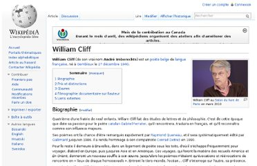 http://fr.wikipedia.org/wiki/William_Cliff
