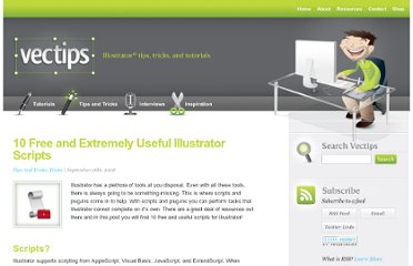 http://vectips.com/tricks/10-free-and-extremely-useful-illustrator-scripts/