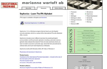 http://www.wartoft.nu/software/sephonics/