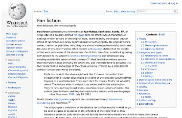 http://en.wikipedia.org/wiki/Fan_fiction