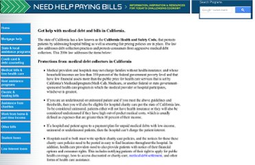 http://www.needhelppayingbills.com/html/laws_in_california_for_help_wi.html
