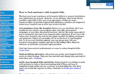 http://www.needhelppayingbills.com/html/how_to_find_assistance_with_ho.html