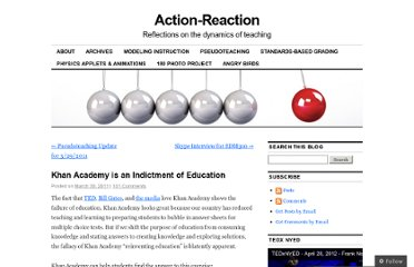 http://fnoschese.wordpress.com/2011/03/30/khan-academy-is-an-indictment-of-education/