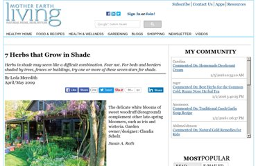 http://www.herbcompanion.com/gardening/7-herbs-that-grow-in-shade.aspx
