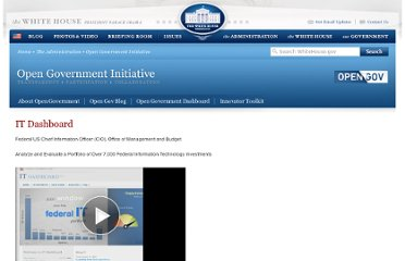 http://www.whitehouse.gov/open/innovations/it-dashboard