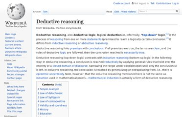 http://en.wikipedia.org/wiki/Deductive_reasoning