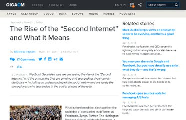 http://gigaom.com/2011/03/31/the-rise-of-the-second-internet-and-what-it-means/