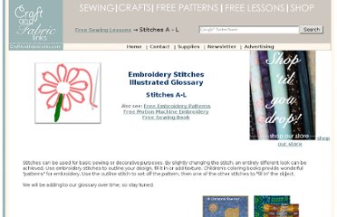 http://www.craftandfabriclinks.com/stitches/free_embroidery_stitches.html