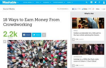 http://mashable.com/2011/04/01/make-money-crowdworking/