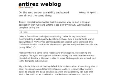 http://antirez.com/post/scalability-and-speed-of-web-apps.html