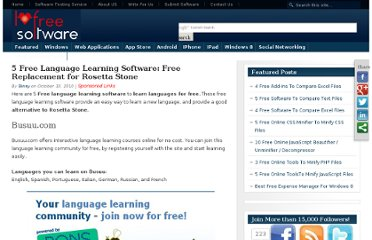 http://www.ilovefreesoftware.com/10/featured/free-language-learning-software-free-replacement-rosetta-stone.html