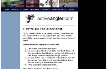 http://www.activeangler.com/articles/how-to/articles/knots/arbor.asp