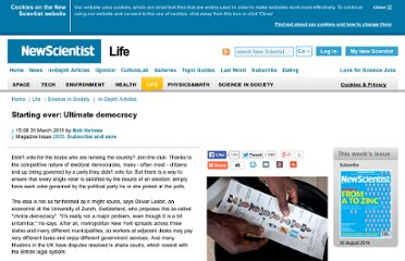 http://www.newscientist.com/article/dn20297-starting-over-ultimate-democracy.html