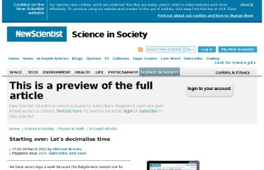 http://www.newscientist.com/article/dn20293-starting-over-lets-decimalise-time.html